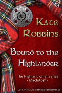 Bound to the Highlander by Kate Robbins - TARA - 500